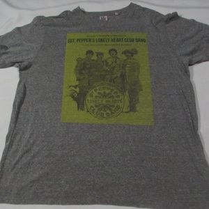 THE BEATLES SGT. PEPPER Shirt Mens Size Large